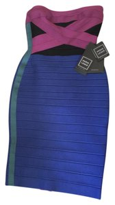 Hervé Leger Bandage Body Con Dress