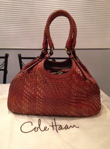 Cole Haan Tote in Saddle Brown Cognac