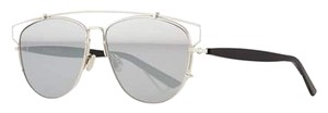 Dior Technologic 57MM Pantos Sunglasses Palladium Black/Silver Mirror