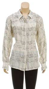 Kelly Wearstler Button Down Shirt Beige