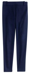 J.Crew Office Work Tailored Capri/Cropped Pants Navy