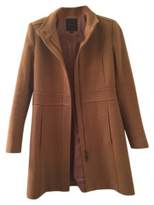 Theory Khaki Wool Coat