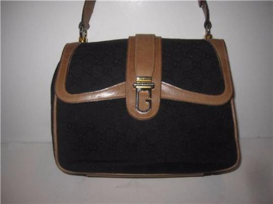 Gucci Hobo Envelope Top Dressy Or Casual Unusual Rare Multiple Layers Shoulder Bag Image 1