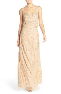 Light Pink Marseille Beaded Blouson Gown Dress