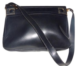 Gucci Gold Hardware Glossy Gg Accents At Top Hobo Bag