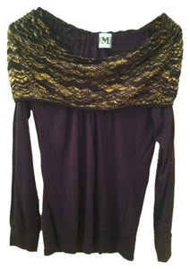 Missoni Top Black Gold