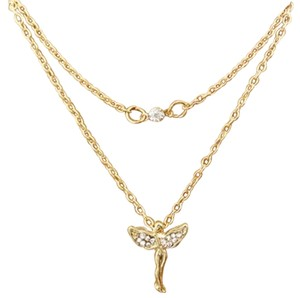 Dogeared Inspired Guarardian Angle Thanks Necklace
