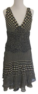 Sue Wong A-line Chiffon Polka Dot Dress