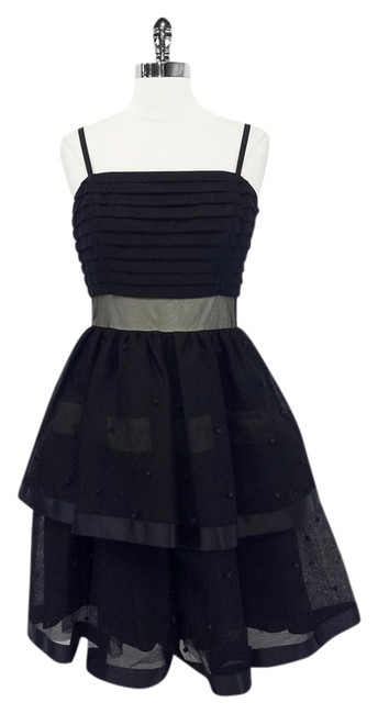 Preload https://item2.tradesy.com/images/juicy-couture-black-tiered-sheer-party-w-nude-contrast-mid-length-cocktail-dress-size-6-s-1770691-0-0.jpg?width=400&height=650