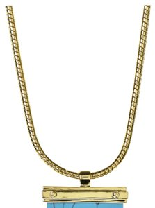 CC SKYE Gold-plated & Two Tone Torquoise -tone Necklace