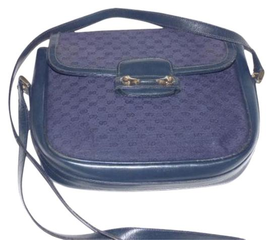 Preload https://img-static.tradesy.com/item/17707156/gucci-vintage-pursesdesigner-purses-shades-of-blue-with-small-g-logo-print-canvasleather-and-cross-b-0-2-540-540.jpg