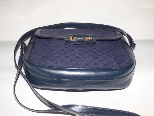 Gucci Shoulder/Cross Horse-bit Accents Early Equestrian Hardware Cross Body Bag Image 3