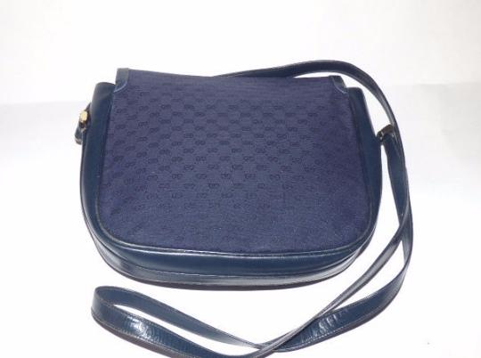 Gucci Shoulder/Cross Horse-bit Accents Early Equestrian Hardware Cross Body Bag Image 4