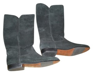 Cappagallo Suede Riding Brazil black suede Boots