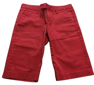 Banana Republic Bermuda Shorts Red