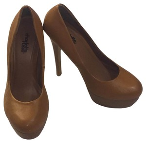 Charlotte Russe Platform Brown Pumps
