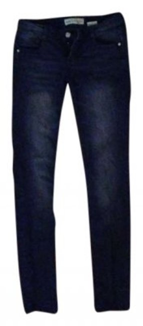 Preload https://img-static.tradesy.com/item/177075/paris-blues-dark-rinse-skinny-jeans-size-26-2-xs-0-0-650-650.jpg