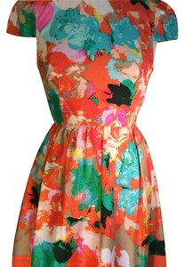 Ali Ro short dress Peony Multi on Tradesy