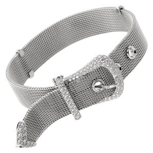 Tiffany & Co. Tiffany & Co Diamond Buckle Platinum Bracelet