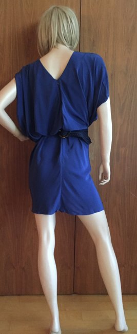 Kinwolfe Silk Short Sleeve Dress Image 1