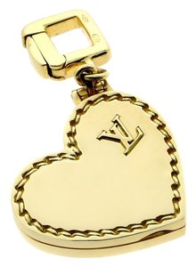 Louis Vuitton Louis Vuitton Gold Heart Locket Charm