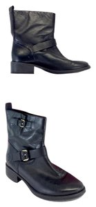 Tory Burch Black Leather Bennie Boots
