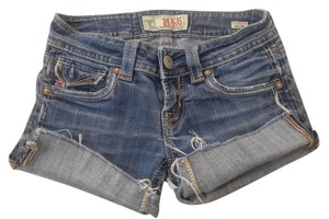MEK DNM P2140 Jeans Size 24 Mek Cut Off Shorts denim
