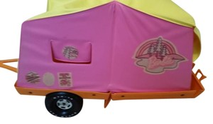 Barbie Barbie Pop Up Camping Tent