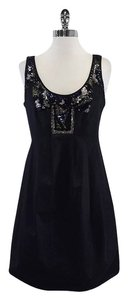AllSaints short dress Black Sleeveless Embellished on Tradesy
