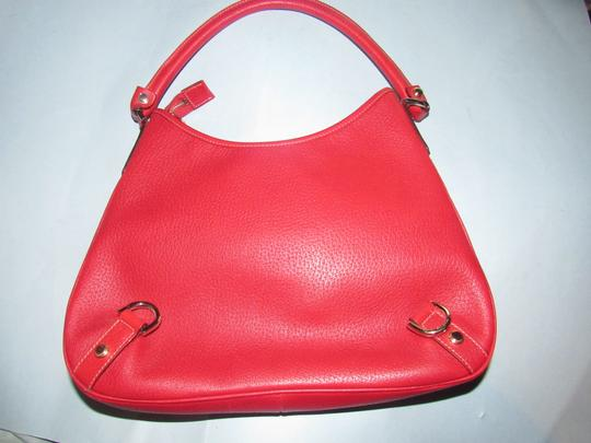 Gucci Gold Hardware Mint Vintage Very Clean Lining Pefect Pop Of Color Dressy Or Casual Hobo Bag Image 3