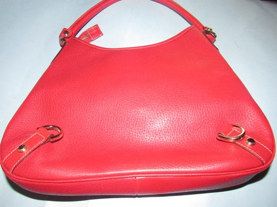 Gucci Gold Hardware Mint Vintage Very Clean Lining Pefect Pop Of Color Dressy Or Casual Hobo Bag Image 4