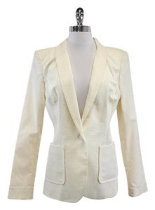 Rachel Zoe Cream Cotton Blazer