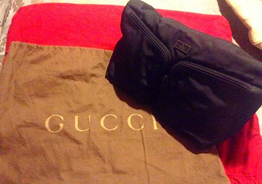 Gucci Two Front Pockets One Innner Zipper Hobo Bag