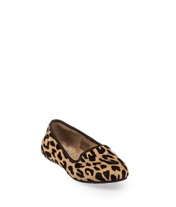 fff15db9af0 UGG Australia Brown/Beige Uggs Women's Leopard Print Pony Hair Alloway  Loafers (29428) Flats Size US 6 Regular (M, B)