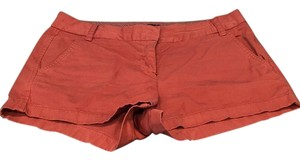 J.Crew Mini/Short Shorts Nantucket Red