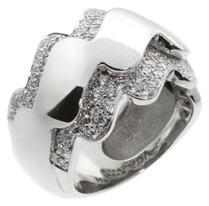 Van Cleef & Arpels Van Cleef & Arpels Diamond Wave White Gold Ring