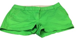 J.Crew Mini/Short Shorts Green