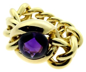 Chanel Chanel Amethyst Gold Ring