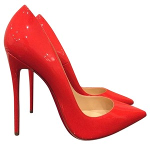 Christian Louboutin So Kate Sokate Stiletto orange Pumps
