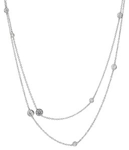 Tiffany & Co. Tiffany & Co Diamonds by the Yard Platinum Necklace