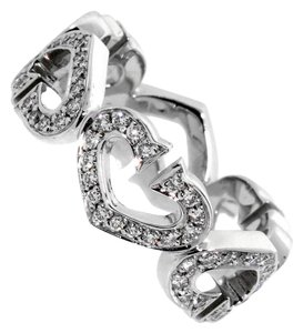 Cartier Cartier Heart Diamond Eternity White Gold Ring