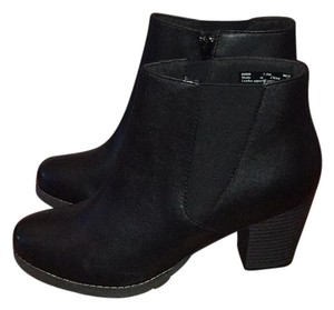 Clarks Black Leather Boots