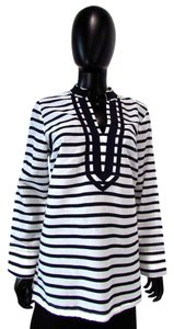 Saint Tropez West Striped Long Sleeves Tunic