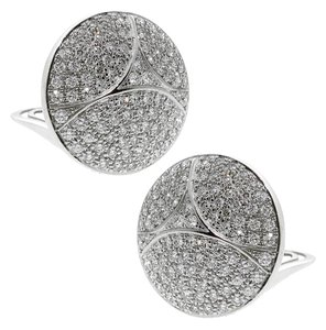 Cartier Cartier Pave Diamond White Gold Earrings