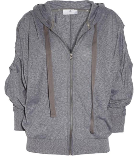 Item - Gray Yoga Hoodie Activewear Outerwear Size 2 (XS)