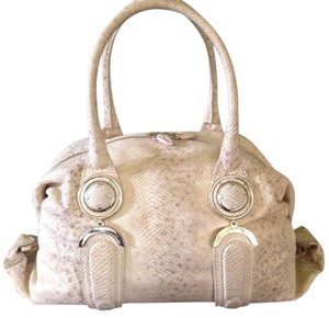 Elie Tahari Satchel in Cream