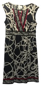 Donna Morgan short dress Black, white, and red on Tradesy