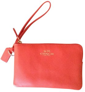 Coach Wristlet in Watermellon