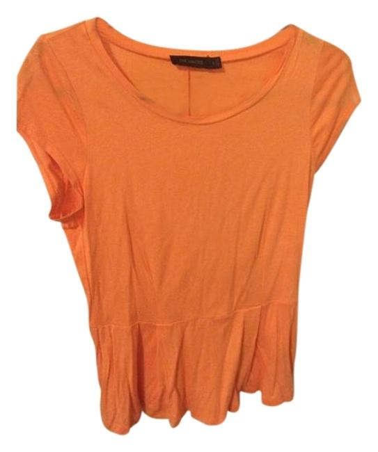 Preload https://img-static.tradesy.com/item/17710999/the-limited-orange-peplum-blouse-size-4-s-0-1-650-650.jpg