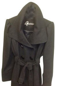 Guess Excellent Large Belt Pea Coat